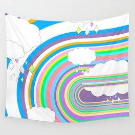 Happy Rain Wall Tapestry