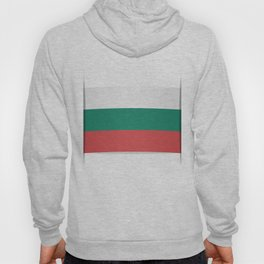 Flag of Bulgaria. The slit in the paper with shadows. Hoody