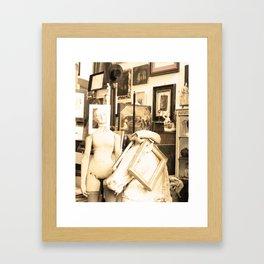 antique picasso Framed Art Print