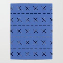 BoJack Blue Jumper Poster