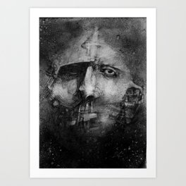 FaceNo.15 Art Print