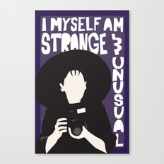 Strange and Unusual Canvas Print