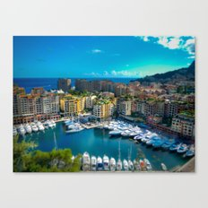 A Little Port Canvas Print