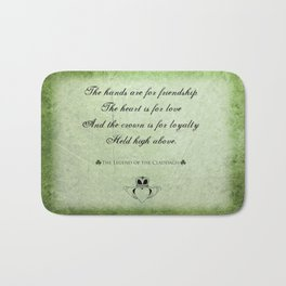 Claddagh ~ Love, Loyality, and Friendship Bath Mat