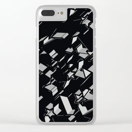 3D Mosaic BG II Clear iPhone Case