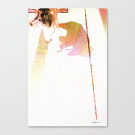 Let's Stroll! Canvas Print