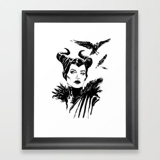 Maleficent Fan Art Angelina Jolie from Sleeping Beauty by fabdtl