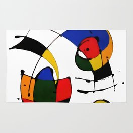In the Style of Miro Rug