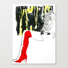 Man Eater Canvas Print
