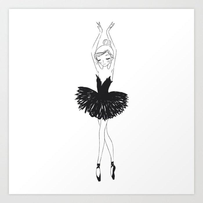 Black Swan Kunstdrucke