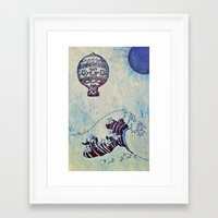 voyage Framed Art Prints featuring Voyage by Cullen Rawlins