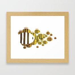 Abejas Framed Art Print