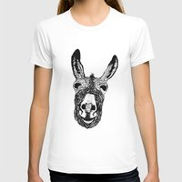 donkey T-shirts featuring Wonky Donkey  by Yann Thompson