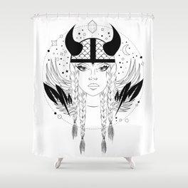 Viking Bitch Shower Curtain