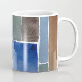Blue squares, carrés bleus Coffee Mug