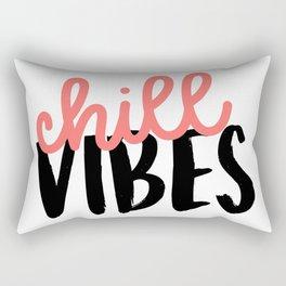 Chill Vibes Rectangular Pillow