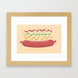Hat Dag! Framed Art Print