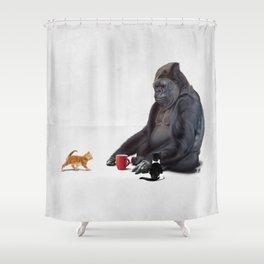 I Should, Koko (Wordless) Shower Curtain