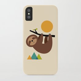 Keep Calm And Live Slow iPhone Case