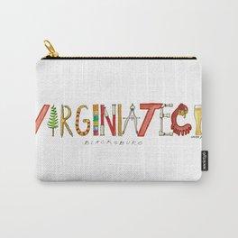 Va Tech Carry-All Pouch