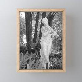Lady in the Park Framed Mini Art Print