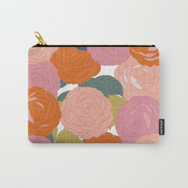Flowers In Full Bloom Carry-All Pouch