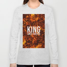 flowers 55 - king Long Sleeve T-shirt