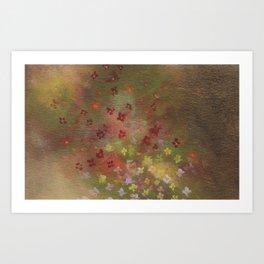 Spray of Spring Art Print