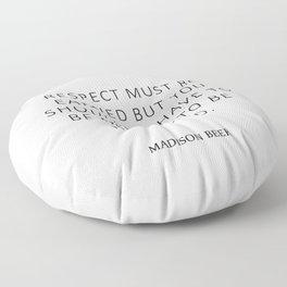 Respect - Beer Floor Pillow