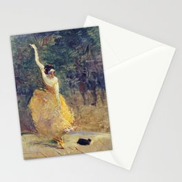 Henri De Toulouse Lautrec - The Spanish Dancer Stationery Cards