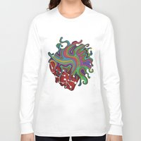 psychedelic Long Sleeve T-shirts featuring Psychedelic   by Malsano