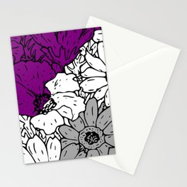 Asexual flowers Stationery Cards
