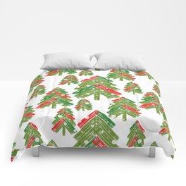 Christmas trees. Comforters