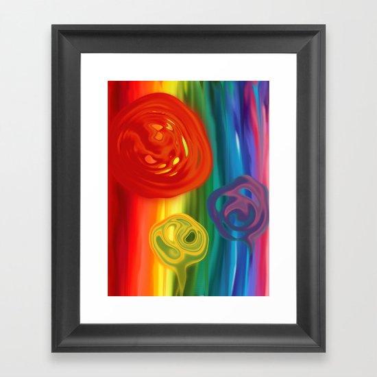 ColorOffense Framed Art Print