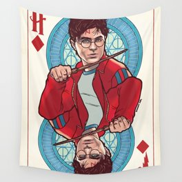 HP card Wall Tapestry