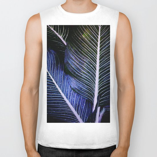 galactic leaves Biker Tank