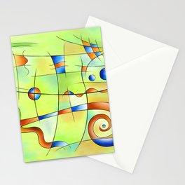 Frenesia - mad world Stationery Cards