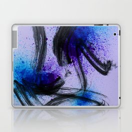 Japanese Style Abstract on Lavender Laptop & iPad Skin