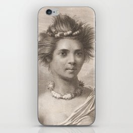 Vintage Hawaii Art iPhone Skin