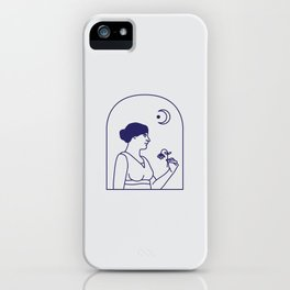 Ode to the Moon iPhone Case