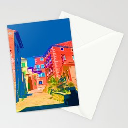 Labin Steps Croatia Europe Stationery Cards
