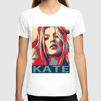 moss T-shirts featuring Kate moss by Christophe Chiozzi