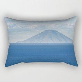 Stromboli island Rectangular Pillow