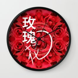 玫瑰花 - ROSE Wall Clock