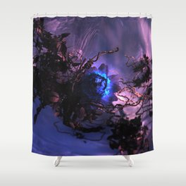 The Winter Rose Shower Curtain