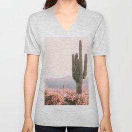 Vintage Cactus Unisex V-Neck