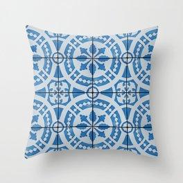 Azulejos 95 Throw Pillow