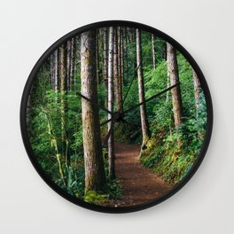 Trees: III // Oregon Wall Clock