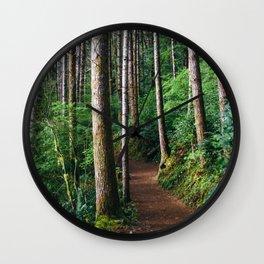 Trees: III // Oregon Wall Clock