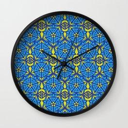 Peak Ascension Color Pattern Wall Clock